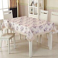 TRE Garten-Tischdecke/ nach Hause Nähen/Tischdecken/Rundtischdecken/ Tischtuch/Tischdecke decke/Abdeckung Tuch-C Durchmesser230cm(91inch)