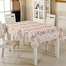 TRE Garten-Tischdecke/ nach Hause Nähen/Tischdecken/Rundtischdecken/ Tischtuch/Tischdecke decke/Abdeckung Tuch-M 130x130cm(51x51inch)