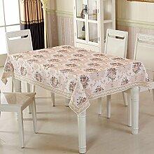 TRE Garten-Tischdecke/ nach Hause Nähen/Tischdecken/Rundtischdecken/ Tischtuch/Tischdecke decke/Abdeckung Tuch-G 100x160cm(39x63inch)