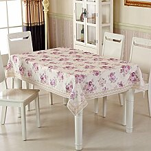 TRE Garten-Tischdecke/ nach Hause Nähen/Tischdecken/Rundtischdecken/ Tischtuch/Tischdecke decke/Abdeckung Tuch-B Durchmesser180cm(71inch)