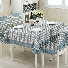 TRE Garten Tischdecke Stoff/ Karierten Tischdecke/Tischdecke decke/Tischdecke decke/Abdeckung Tuch-A 90x160cm(35x63inch)