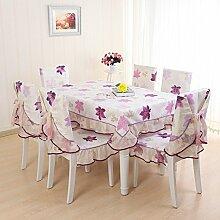 TRE Garten Tischdecke Stoff/Maple Leaf Chinese Restaurant Tischwäsche/Tischdecke decke/Tischdecke decke/Abdeckung Tuch-B 110x160cm(43x63inch)