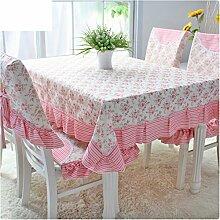 TRE Garten Tischdecke Stoff/Spitzen Sie