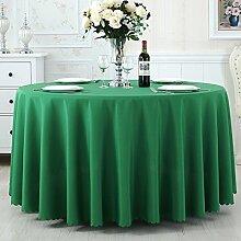 TRE Hotel Runde Tisch rund Tischdecken/Tischdecken/Reine Farbe Büro Konferenz Tisch Tischdecke/Tischdecke decke-I 150x210cm(59x83inch)
