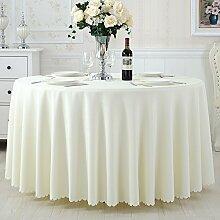 TRE Hotel Runde Tisch rund Tischdecken/Tischdecken/Reine Farbe Büro Konferenz Tisch Tischdecke/Tischdecke decke-D 140x200cm(55x79inch)