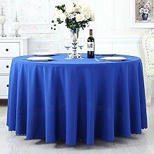 TRE Hotel Runde Tisch rund Tischdecken/Tischdecken/Reine Farbe Büro Konferenz Tisch Tischdecke/Tischdecke decke-A 120x160cm(47x63inch)