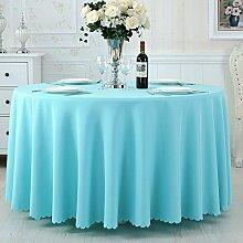 TRE Hotel Runde Tisch rund Tischdecken/Tischdecken/Reine Farbe Büro Konferenz Tisch Tischdecke/Tischdecke decke-H 120x180cm(47x71inch)