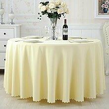 TRE Hotel Runde Tisch rund Tischdecken/Tischdecken/Reine Farbe Büro Konferenz Tisch Tischdecke/Tischdecke decke-N 120x160cm(47x63inch)