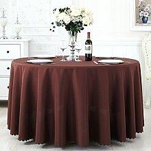 TRE Hotel Runde Tisch rund Tischdecken/Tischdecken/Reine Farbe Büro Konferenz Tisch Tischdecke/Tischdecke decke-F 120x160cm(47x63inch)