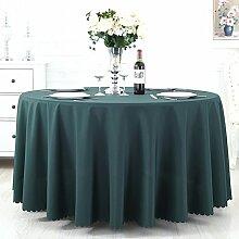 TRE Hotel Runde Tisch rund Tischdecken/Tischdecken/Reine Farbe Büro Konferenz Tisch Tischdecke/Tischdecke decke-C 120x180cm(47x71inch)
