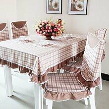 TRE Plaid Stoff/Tischdecken/Tischdecke