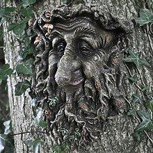 Treant Wand-Gesichtsschild, großes Gartenschild,