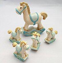 Treasured Memory 5tlg Schaukelpferde Pferd Poly
