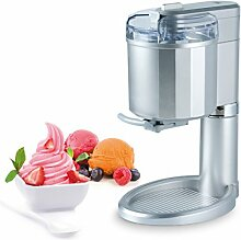 Trebs 99271 Eismaschine für Eis oder auch Sorbet, 500 Gramm Softeis, Kühlelement, inkl. Rezeptvorschläge
