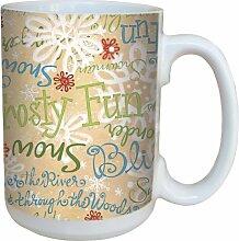Tree-Free Greetings Debbie Mumm Keramiktasse mit