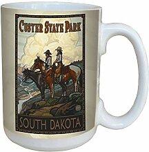 Tree-Free Greetings lm43130Vintage Custer State