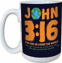 Tree-Free Greetings lm44201Hand Drawn: John 3: