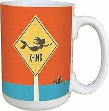 Tree-Free Greetings LM46233 Kaffeebecher mit Griff