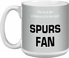 Tree-Free Grüße 20Oz Spurs Fan Artful