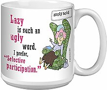 Tree-Free mit Aunty Acid, Lazy Kaffeebecher,