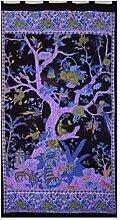 Tree of Life Schlaufenvorhang, Türverkleidung,