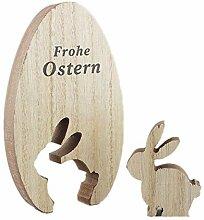 Treer Ostern Dekoration Tisch, Osterdeko Osterhase