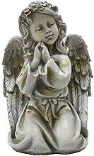 Tremont Floral Engel-Gartenfigur für Mädchen,