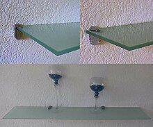 Trend-System Glas Wandregal Claro, Eckregal,