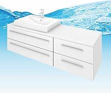 Trendbad24 Gmbh&co.kg - Waschtisch mit Waschbecken