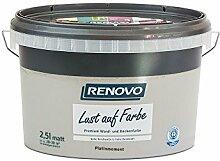 Trendfarbe Platinmoment 2,5 L Renovo Lust auf