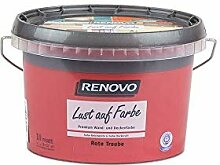 Trendfarbe Rote Traube 1 L Renovo Lust auf Farbe -