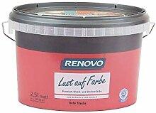 Trendfarbe Rote Traube 2,5 L Renovo Lust auf Farbe