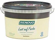 Trendfarbe Vanilleblüte 2,5 L Renovo Lust auf