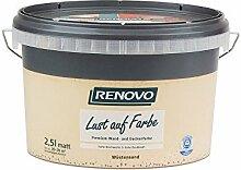 Trendfarbe Wüstensand 2,5 L Renovo Lust auf Farbe