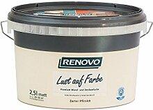 Trendfarbe Zarter Pfirsich 2,5 L Renovo Lust auf