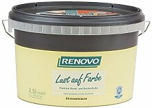 Trendfarbe Zitronenbrause 2,5 L Renovo Lust auf