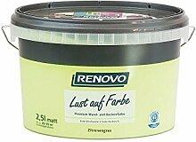 Trendfarbe Zitronengrass 2,5 L Renovo Lust auf