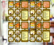 Trendfinding 4 Segmente Foto Deko Karten