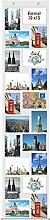 Trendfinding® Fotovorhang 10 x 15 cm mit 20