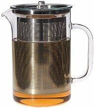 Trendglas Jena 119003 Teekanne PISA mit Deckel und