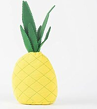 Trendiger Türstopper Ananas aus Stoff