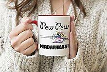 Trending Pew Pew Unicorn Madafakas Roter Griff