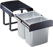 TrendLine Einbau-Mülltrennungssystem 2 x 16 l,