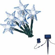 TrendLine LED-Solar-Sternen/Blumen-Lichterkette 50