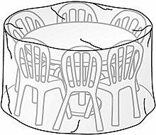TrendLine Schutzhülle für Tischgruppe Rund Durchmesser 200 cm, Höhe 95 cm