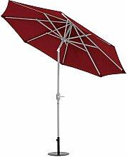 TrendLine Sonnenschirm Gartenschirm Kurbel Schirm Ampelschirm Marktschirm
