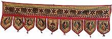 Trendofindia Orientalisch Indischer Wandbehang