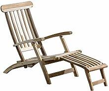 Trendy Home GmbH Teakliege Deckchair Sonnenliege