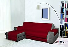Trendy Sofabezug mit Penisel 190 cm Bordeaux