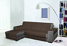 Trendy Sofabezug mit Penisel 190 cm braun